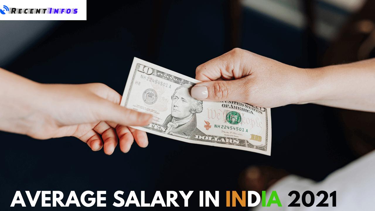 Average Salary in India 2021