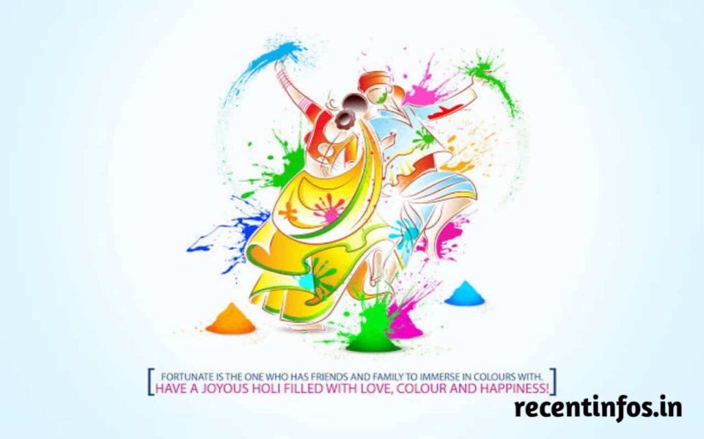 Happy Holi 2021 Rangoli Images