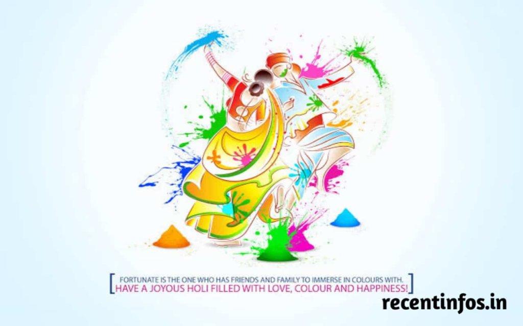 Happy Holi 2021 Rangoli Images