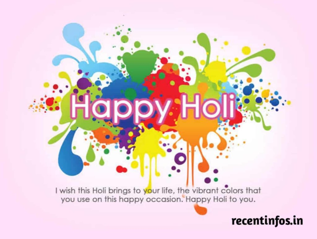 Happy Holi images status