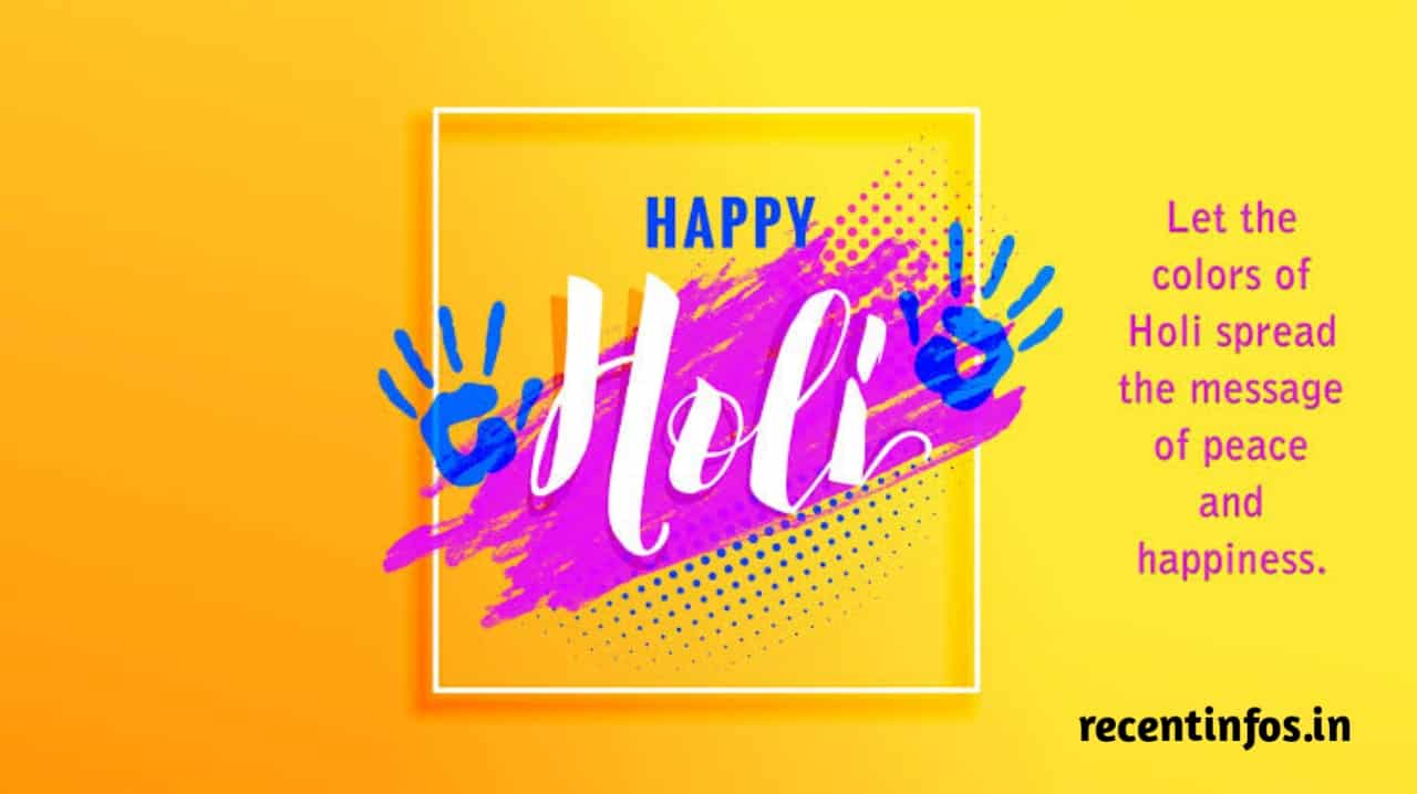 Happy holi hd wishing Images