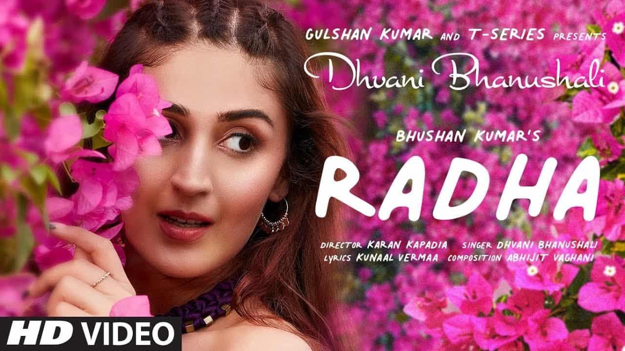 RadHA SONG LYRICS BY Dhvani Bhanushali