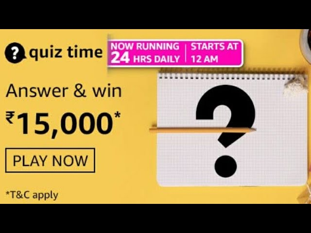 amazon quiz answers 17 april 2021