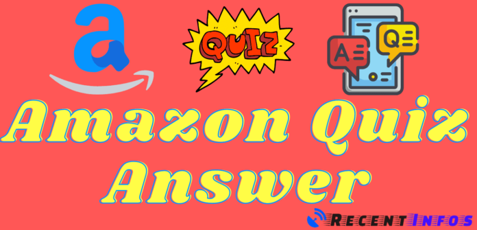 Amazon Quiz Answers