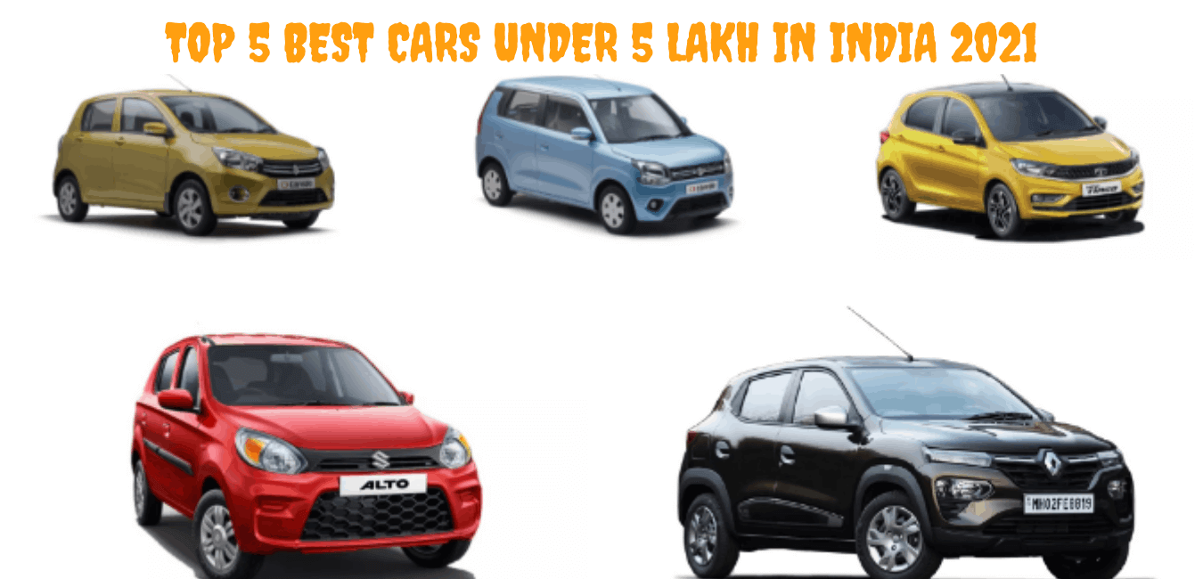 Best Cars Under 5 lakh in India 2021