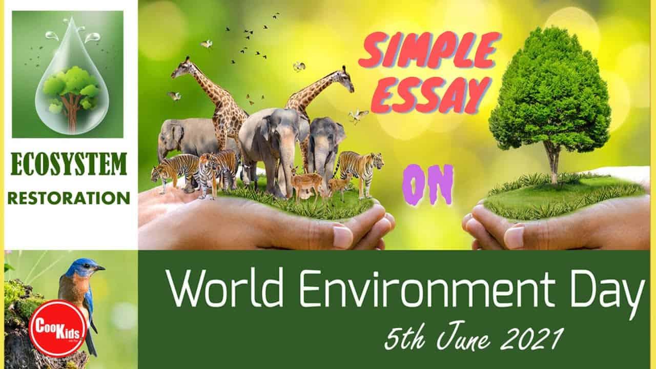 Essay on World Environment Day 2021 Theme