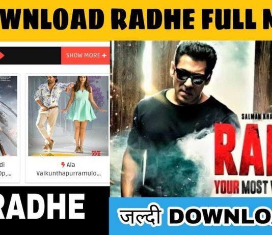 Radhe Full Movie Download Link Filmyzilla