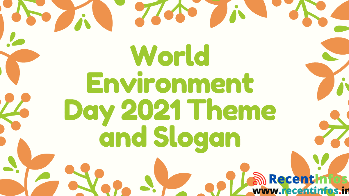 World Environment Day 2021 Theme and Slogan